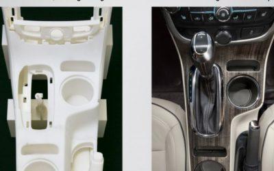 GM testa impressão 3D para componentes