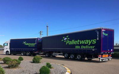 Palletways Iberia com novo Megatrailer na rota de Saragoça