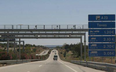 Pesados passam a pagar menos de portagem nas antigas SCUT do interior e do Algarve