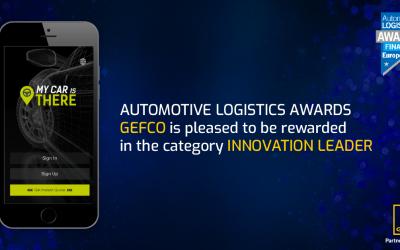 """Grupo GEFCO lidera a inovação com aplicação """"My Car Is There"""""""