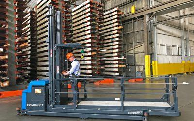 Combilift lança o primeiro order picker para cargas longas