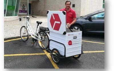 Chronopost avança com bicicletas eléctricas para distribuição em Lisboa