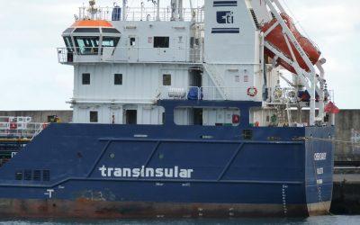 Serviço da Transinsular, Lince Class, chega a Algeciras