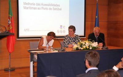 Consignação da empreitada de melhoria das acessibilidades marítimas ao Porto de Setúbal