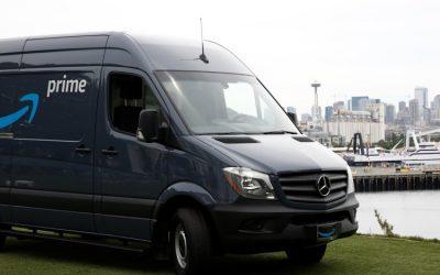 Amazon fecha negócio com a Mercedes e renova aposta no transporte
