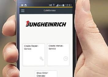 """Jungheinrich lança aplicação """"Call4Service"""""""