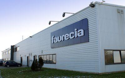 Faurecia investe mais de 6 milhões em centro logístico em Santa Maria da Feira