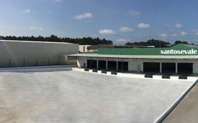 Santos e Vale inaugura instalações da Marinha Grande