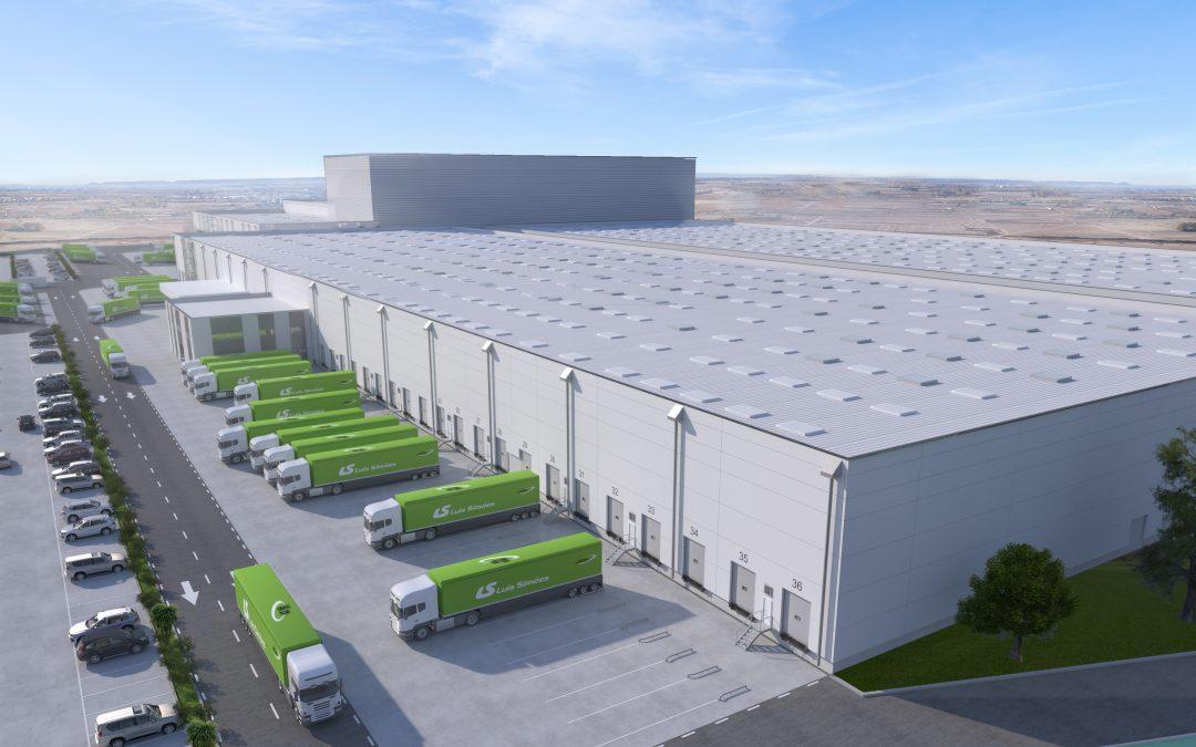 Novo centro logístico Luís Simões em Guadalajara