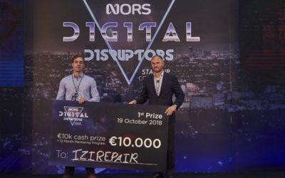 Três startups nacionais ganham prémio internacional