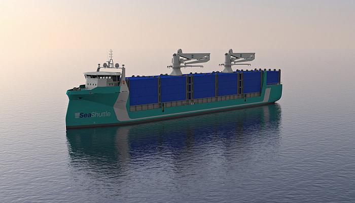 Samskip na liderança de projecto de porta-contentores eléctricos nos mares do Norte