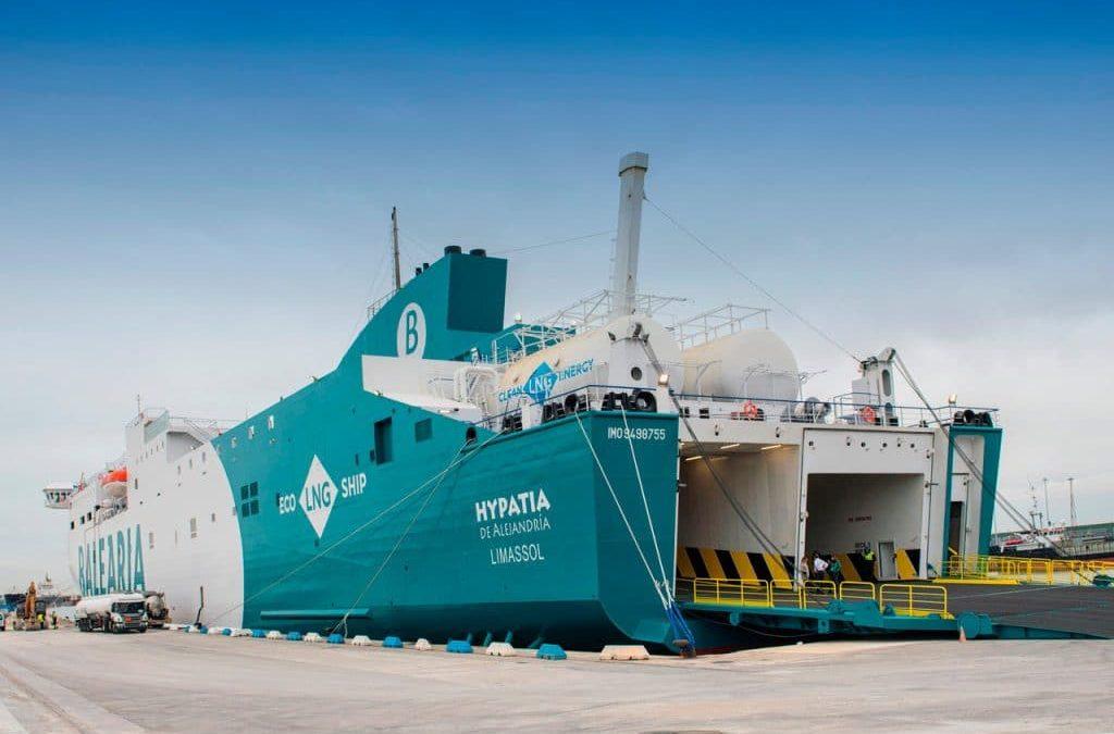 Primeiro ferry a GNL no Mediterrâneo criado pela Baleària