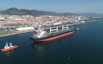 Fassa é o novo navio acolhido no Porto de Viana do Castelo