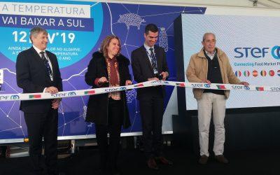 STEF inaugura plataforma de transporte de Algoz