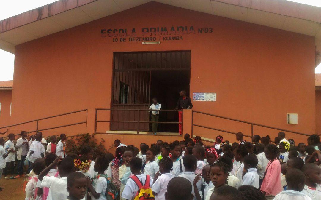 Rangel na maior iniciativa de distribuição de material escolar em Angola