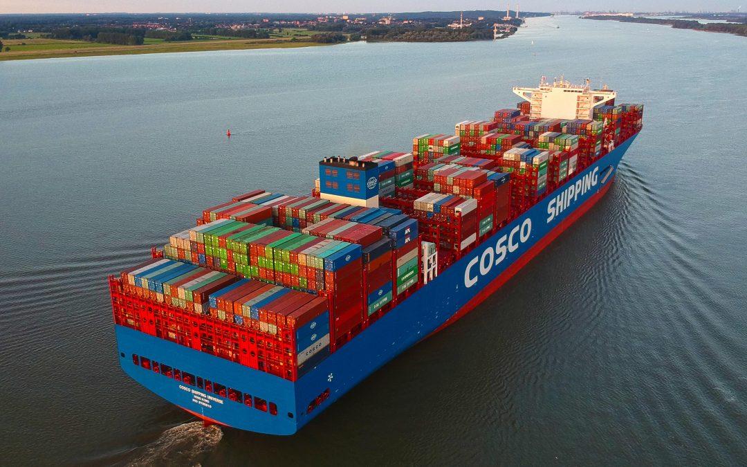 Cosco Shipping anuncia construção de 9 navios