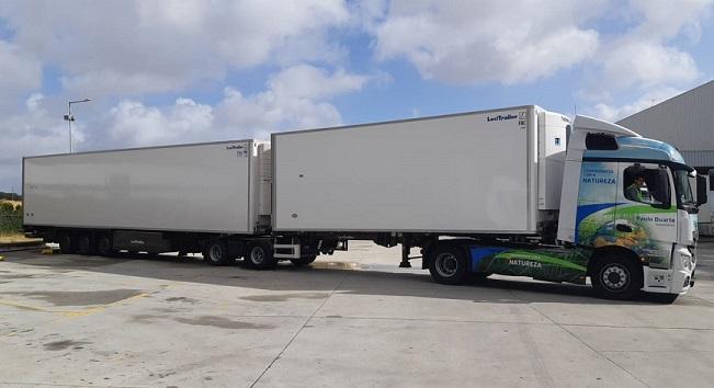 Transportes Paulo Duarte pioneira nos link trailers em Portugal