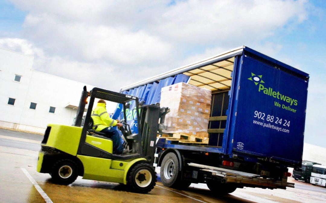 Palletways Iberia movimenta mais de 20.000 paletes semanalmente