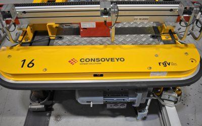 Consoveyo desenvolve solução automática para empresa do sector químico