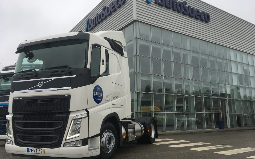 CM Tir recebe o primeiro Volvo FH LNG em Portugal