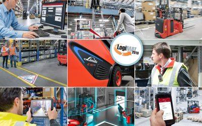 Linde apresenta soluções para a indústria 4.0 na Logimat