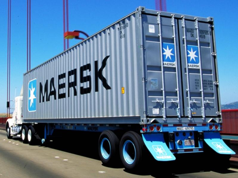 Maersk investe nos serviços terrestres