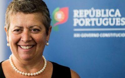 Ministra do Mar presente em sessão que consigna a obra dos acessos rodoviários ao Porto