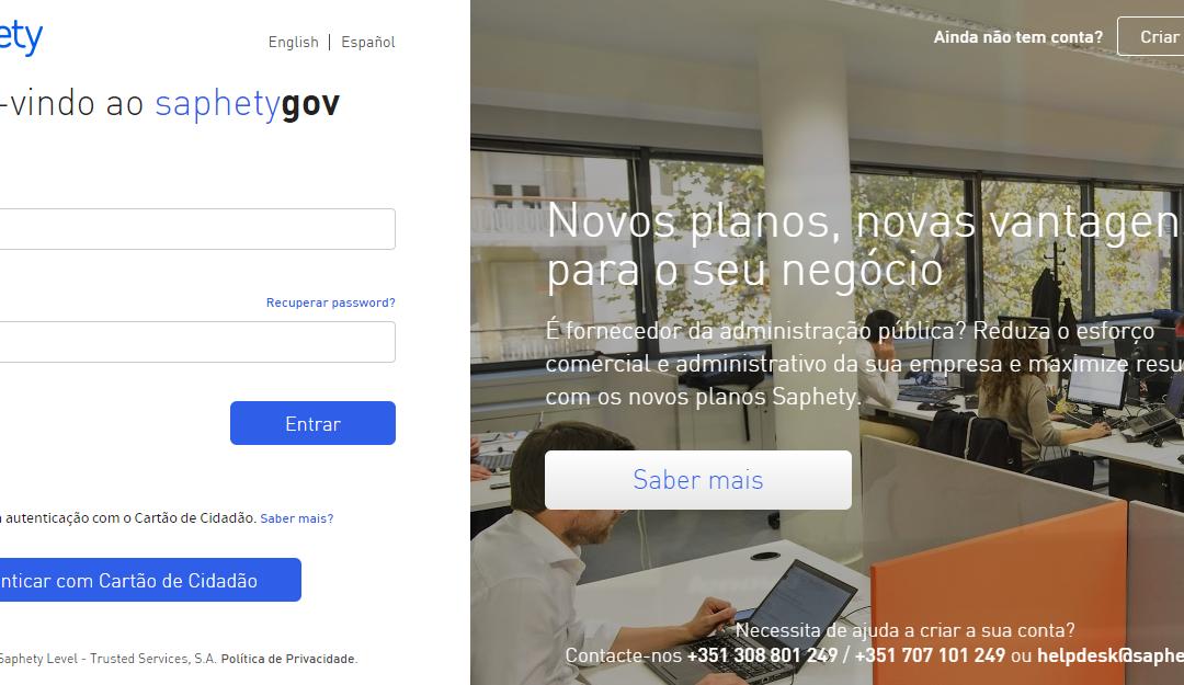 Saphety lança solução de contratação pública e facturação electrónica integrada