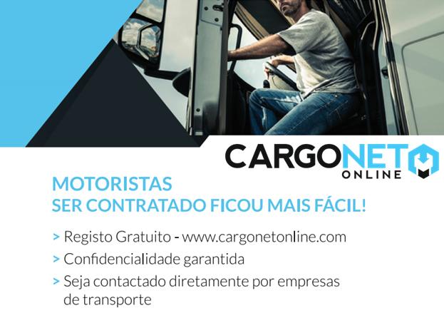 Cargonet Online lança a primeira Bolsa de Motoristas