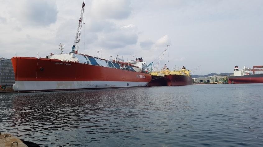 Endesa freta navio metaneiro para transporte de GNL
