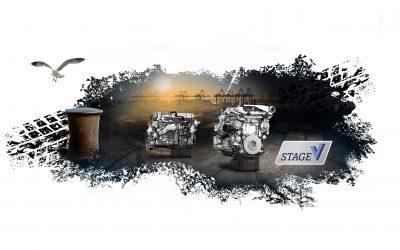 Hyster escolhe motores Mercedes-Benz para os seus grandes camiões stage V