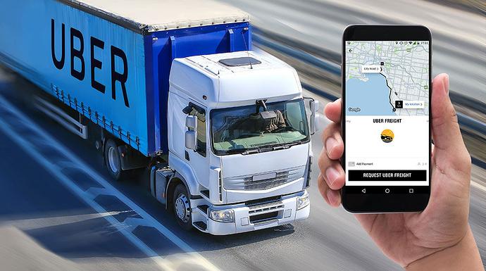 Uber Freight em território europeu