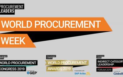 World Procurement Congress reúne profissionais do sector de compras