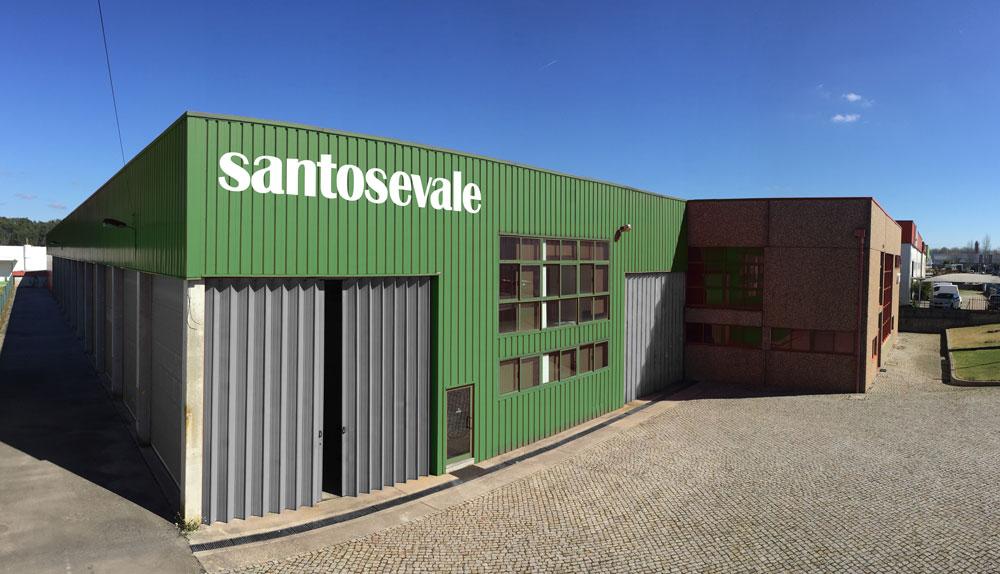 Novo centro logístico da Santos e Vale em Viseu