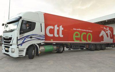 CTT, Iveco e DouroGás testam camião a gás natural com sucesso