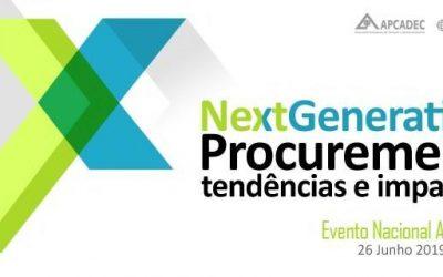 """Confirmados novos oradores do evento nacional da APCADEC """"Next Generation Procurement: Tendências e Impactos"""""""