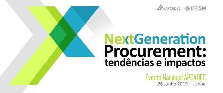 APCADEC realiza Evento Nacional 'Next Generation Procurement: tendências e impactos'