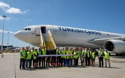 Turkish Cargo chega ao Porto com ligação directa para Istambul