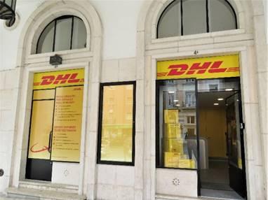 DHL Express abre primeira loja própria no Areeiro
