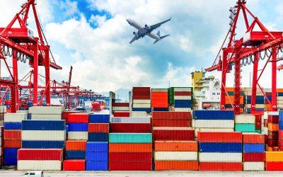 Exportações e importações desaceleram em Abril