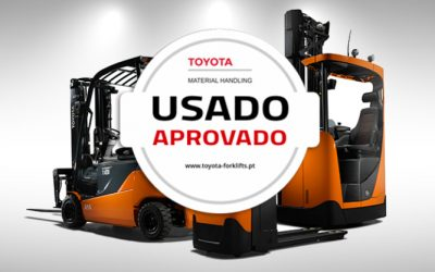 Toyota com novo site para equipamentos usados