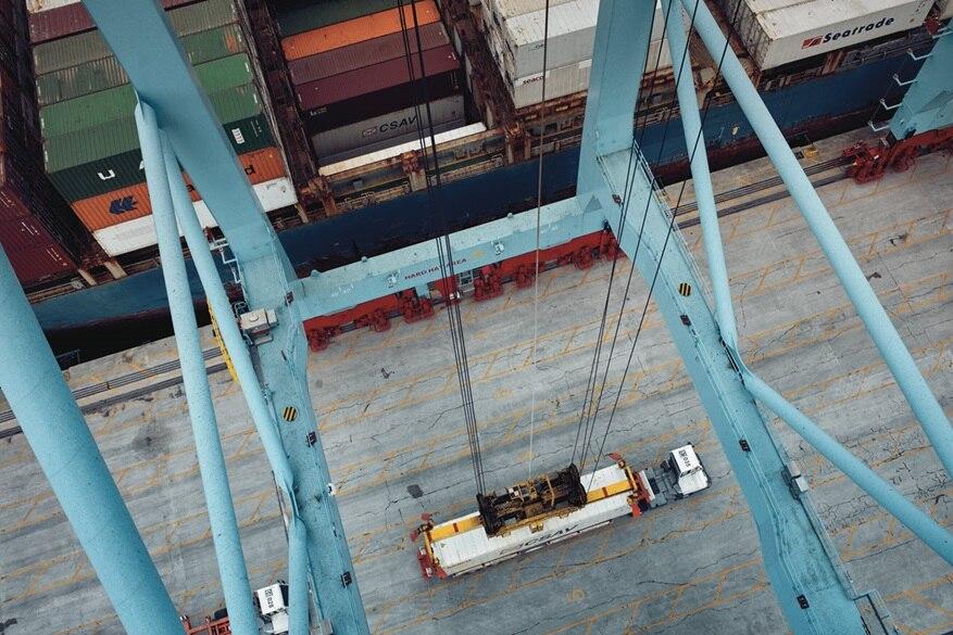 Maersk lança serviço de reserva para carga