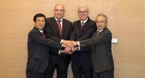 THE Alliance conta com a Hyundai Merchant Marine como quarto membro