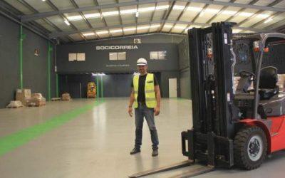 Socicorreia investe em novo centro logístico em Braga
