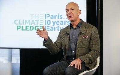 Amazon procura cumprir o Acordo de Paris com 10 anos de antecedência