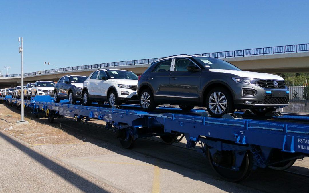 Reactivação da linha ferroviária que liga a Volkswagen Autoeuropa ao Porto de Setúbal