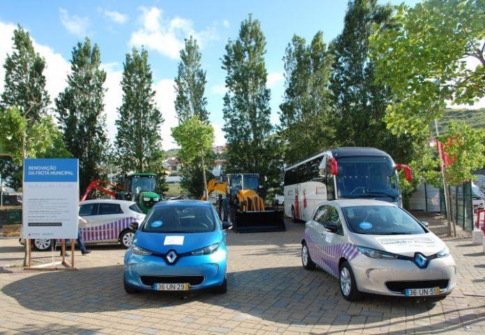 Integração de 17 veículos eléctricos em frota municipal
