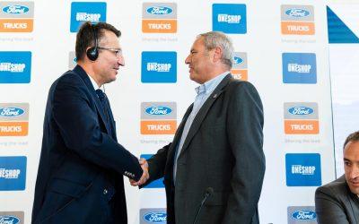 OneShop é a representante da Ford Trucks em Portugal
