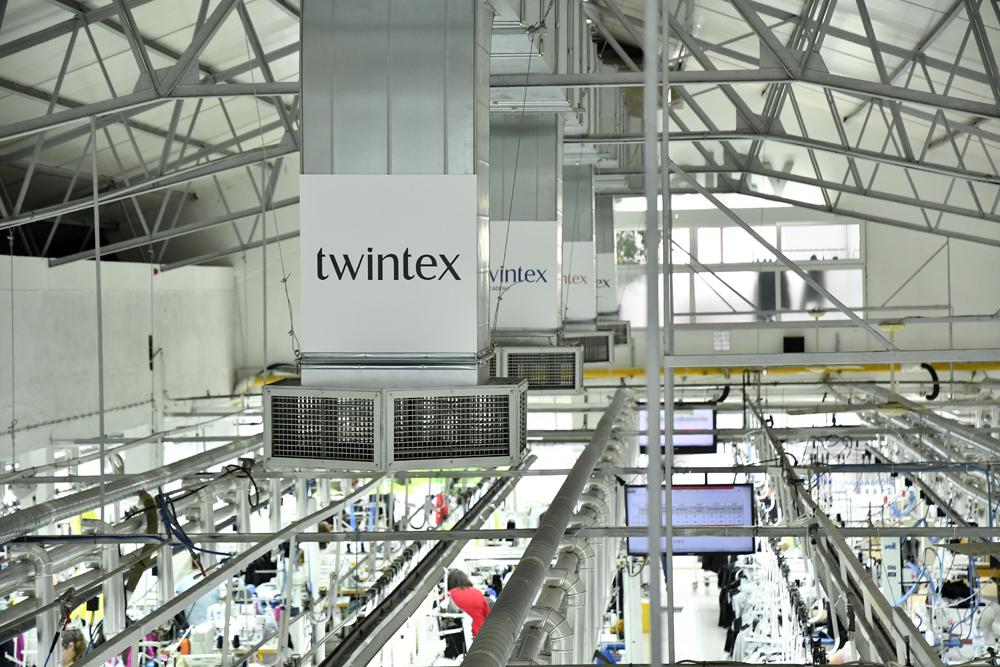 Novo centro logístico da Twintex no Fundão