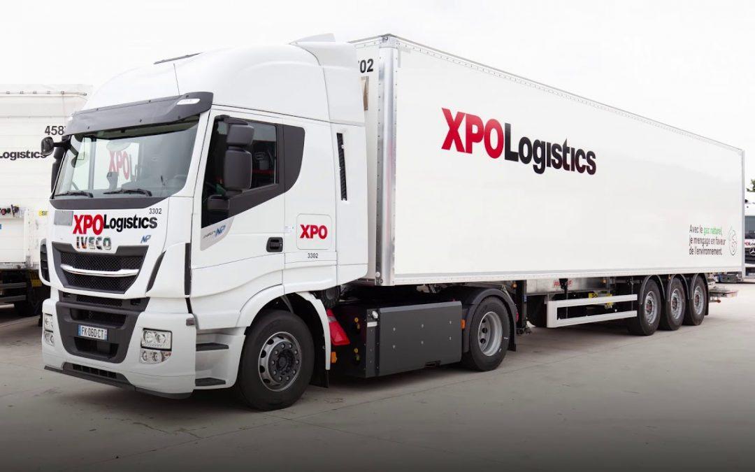 100 veículos a gás natural adquiridos pela XPO Logistics